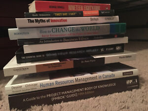 FAST SALE $200 for all Nait Btech used textbooks