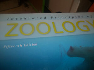 Integrated Principles of Zoology Hardcover – Oct 1 2010