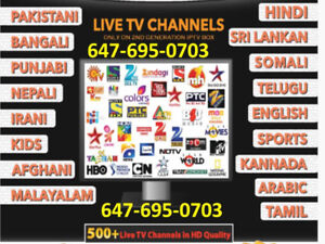 English /Arabic/Euro IPTV best server with huge channels......$5