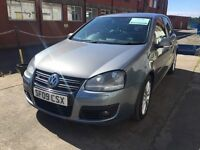 Beautiful vw Volkswagen Golf GT tdi 140 full years MOT no advisories
