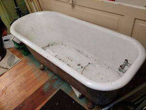 Claw Foot Cast Iron Soaker Tub London Ontario image 2
