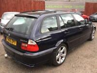 BMW 3 SERIES 2.0 320 D SE TOURING (2005) AUTOMATIC + DIESEL + ESTATE + 150 BHP