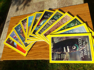 National Geographic 1981 - 12 months package