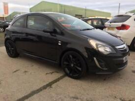 SOLD Vauxhall/Opel Corsa 1.2i 16v ( 85ps ) Limited Edition ( a/c ) 2013 63