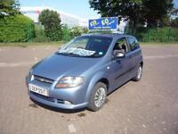 CHEVROLET KALOS 1.1 S.* £15 Per Week..£O Deposit * LOW INSURANCE * 2007