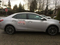 ICBC LICENSED DRIVING INSTRUCTOR-ROAD TEST CAR RENTAL-LOW COST