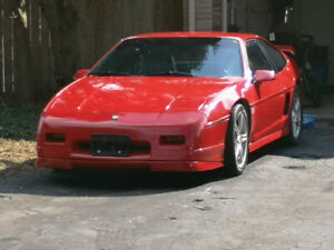 Very fast 87 Fiero GT with supercharged 3.8L