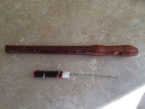 Silvetta flute and leather case