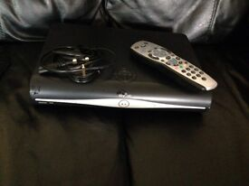 Sky HD box with controller