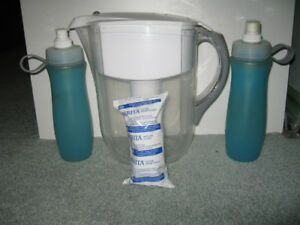 Brita Pitcher Jug, Replacement filter and Brita Water Bottle