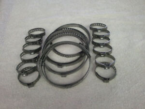 Universal clamps Belt / Squeeze - made of stainless steel