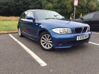 BMW 1 Series 120d Diesel Service History 2 Keys Immaculate Condition