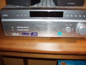 Sony Video/AM/FM Receiver c/w 2 front speakers