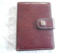 luxury Bosca leather wallets