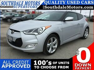 2014 HYUNDAI VELOSTER GT | REAR CAMERA | LOW KM'S | BLUETOOTH