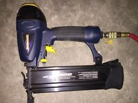 Mastercraft 3 In One Air Powered Nailer With Air Hose - NEW