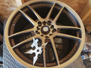 Set of 4 18*7.5 inch bran new NJ02 light weight rims for sell