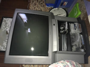 Toshiba  tv with matching  stand