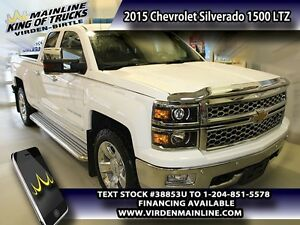 2015 Chevrolet Silverado 1500 LTZ  - Leather Seats -  Bluetooth