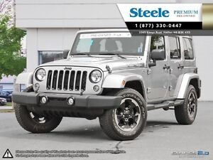 2014 Jeep WRANGLER Sahara Unlimited Polar Edition