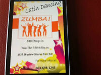 would you like workout, dance and have fun with zumba?