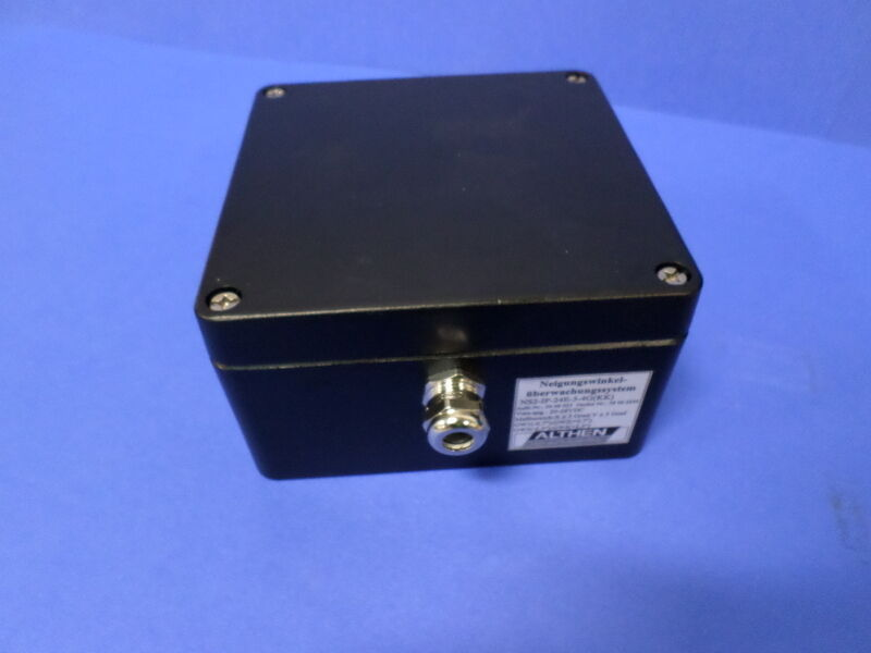 ALTHEN 20-28VDC DUAL AXIS TILT SWITCH SYSTEM, NS2-IP-24E-4G *NNB*