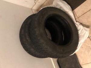2 Winter tires 205-65-15R