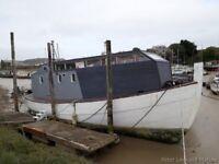 52ft Ex MFV Liveaboard houseboat