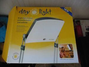 Day-Light Classic 10,000 LUX Bright Light Therapy Lamp