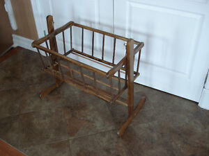 Vintage Wooden Rocking Cradle. London Ontario image 1