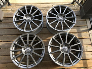 VW 18 inch Rotary Anthracite Rims