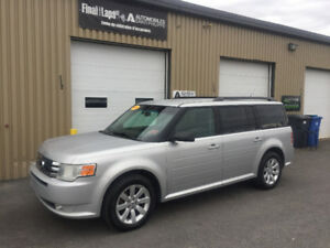 2009 Ford Flex SEL Fwd clean, 7 passagers,pneus d'hiver michelin