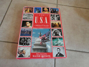 The USA A Chronicle in Pictures hardcover book