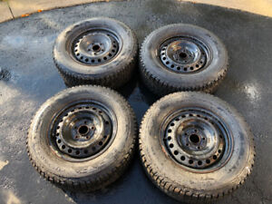 Firestone Winterforce Winter Tires Perfect Condition with Rims!