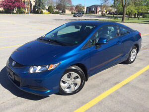 2013 Honda Civic LX Coupe **LOW MILEAGE 14700KM ONLY**