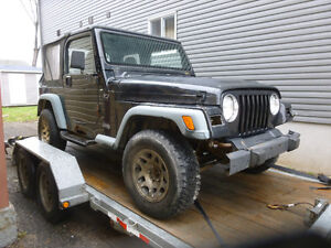 1998 Jeep TJ (((((((MUST GO)))))) Will trade for a boat.