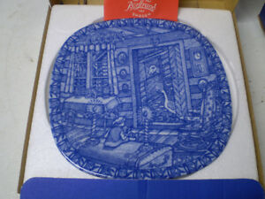 Rorstrand  Sweden Christmas Collector Plates Porcelain