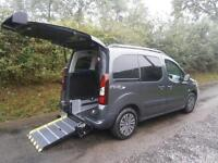 2013 Peugeot Partner Tepee E HDI AUTO WHEELCHAIR ACCESSIBLE VEHICLE 5 door Wh...