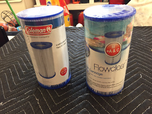 2 New Pool Filters