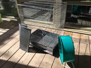 Cage pour petits animaux ou rongeurs