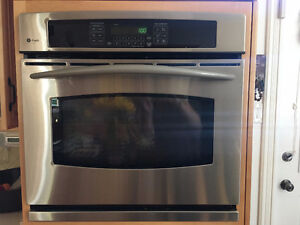 """2 GE Profile, 30"""" Convection, Stainless Wall Ovens"""