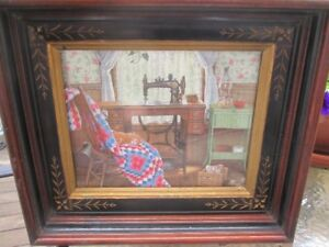 Antique Eastlake Deep Well Picture Frame