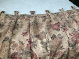 2 Curtain Panels - Professional Custom made with Italian fabric