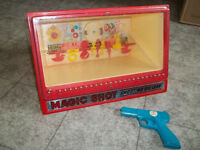 Marx Magic Shot Shooting Gallery 1973