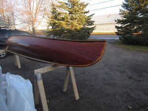 16' RIBLESS CEDAR STRIP CANOE BY TED MOORE PETERBOROUGH Peterborough Peterborough Area image 8
