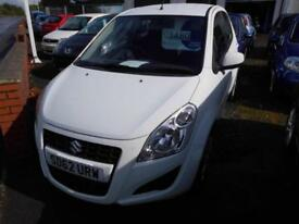 2012 SUZUKI SPLASH SZ2 MANUAL PETROL 996CC 5 DOOR HATCH BACK IN WHITE