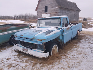 2 1966 Chevy Pickup MAKE AN OFFER
