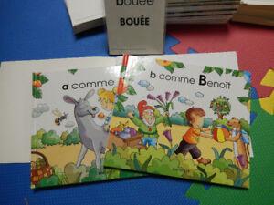 lot de 26 livres et cartes pour apprendre  Grolier NEUF!