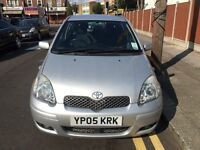 2005 Toyota Yaris 1.3 Petrol Manual- LOW MILEAGE
