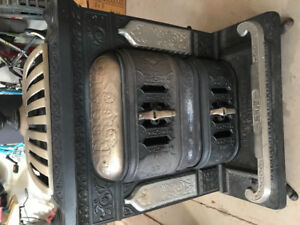 Charles Fawcett stove solid cast iron